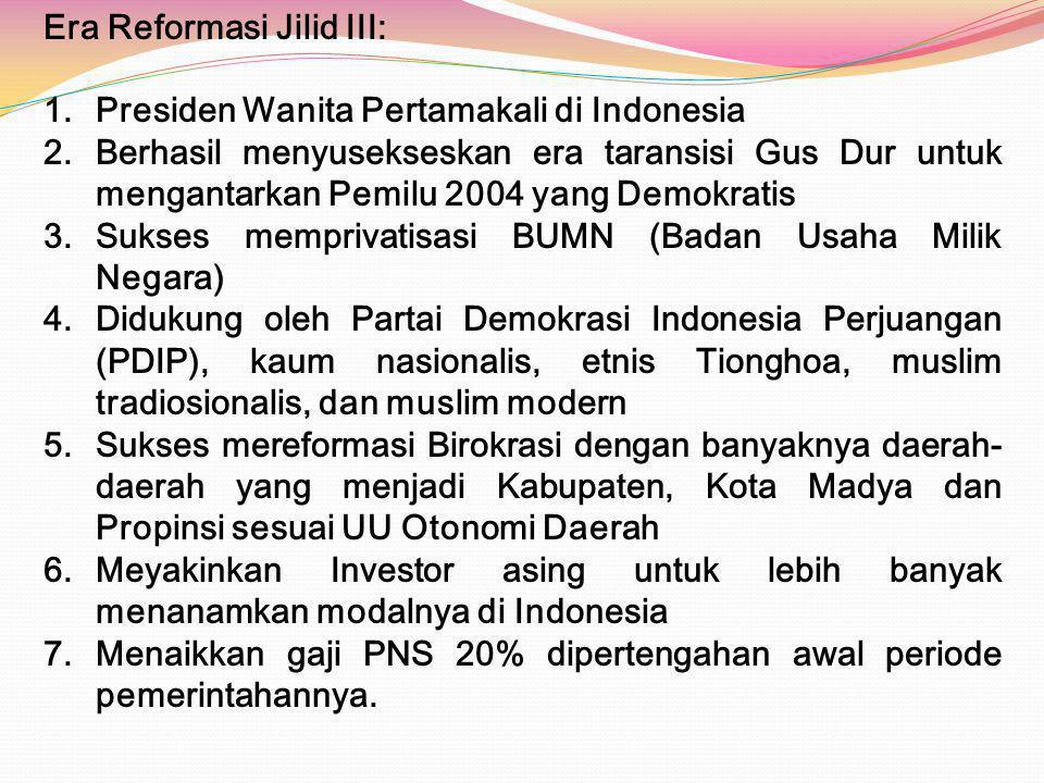 Era Reformasi Jilid III: