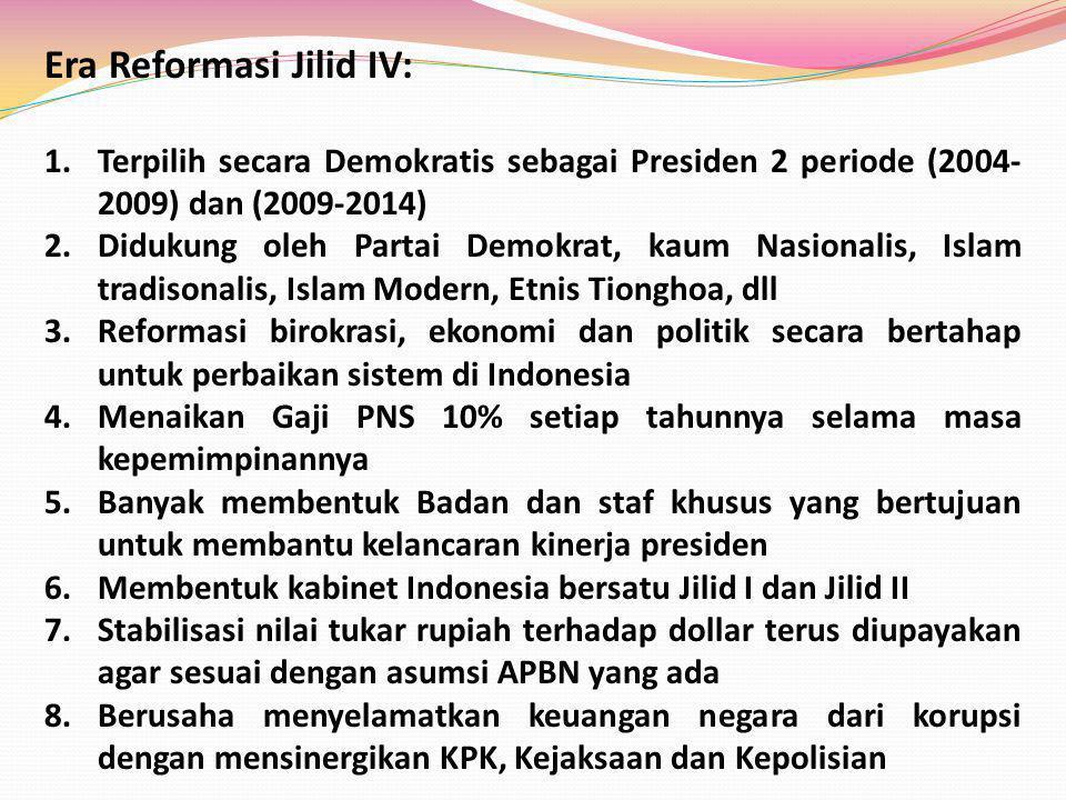Era Reformasi Jilid IV: