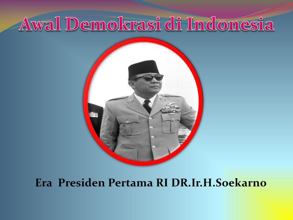 Awal Demokrasi di Indonesia