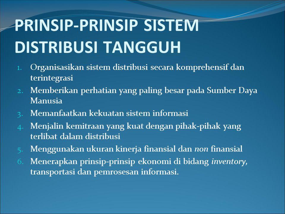 PRINSIP-PRINSIP SISTEM DISTRIBUSI TANGGUH