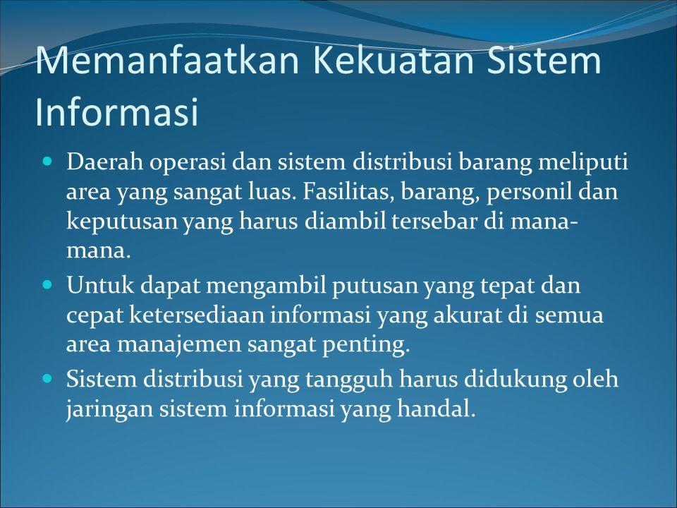 Memanfaatkan Kekuatan Sistem Informasi
