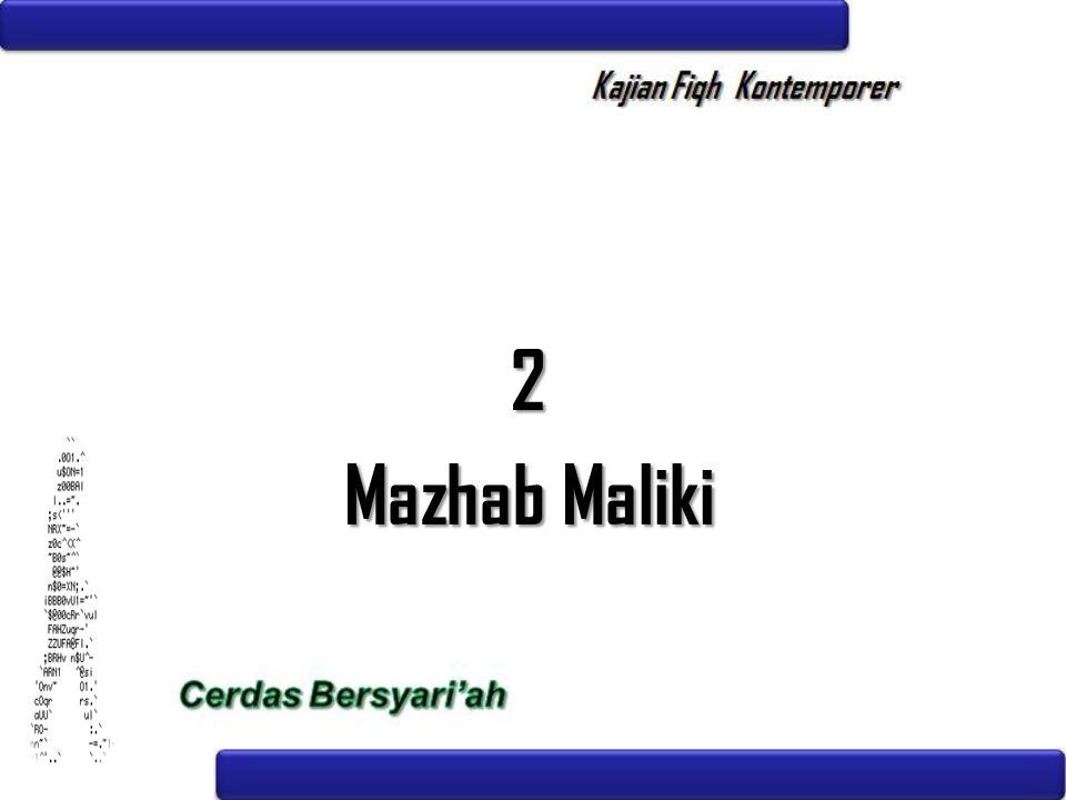 2 Mazhab Maliki