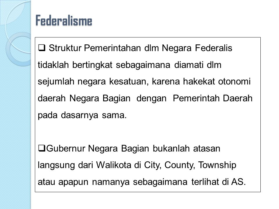 Federalisme