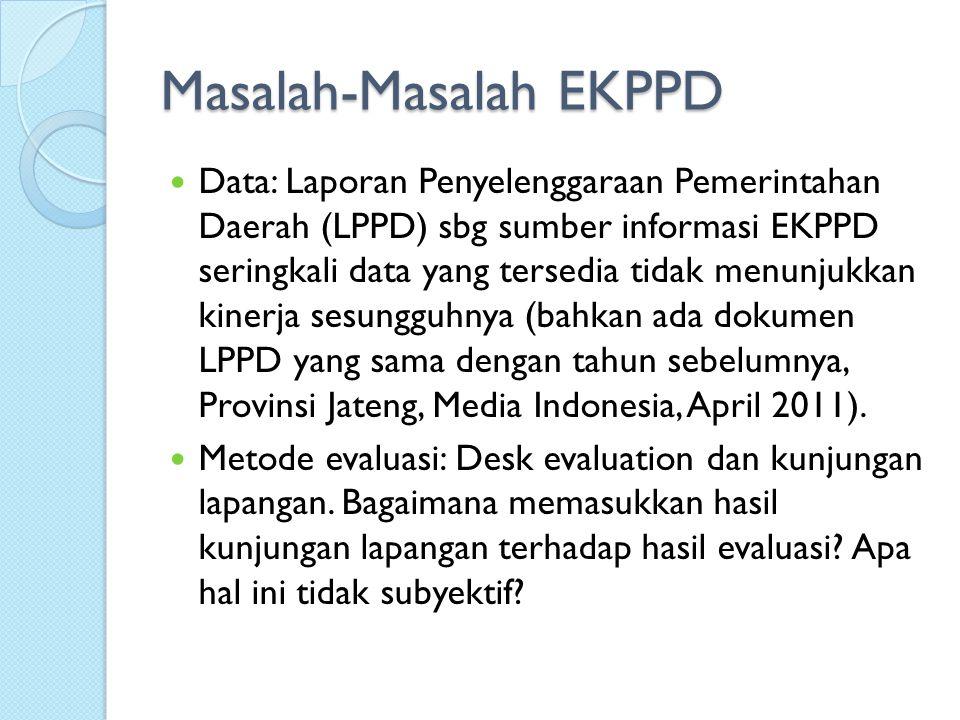Masalah-Masalah EKPPD