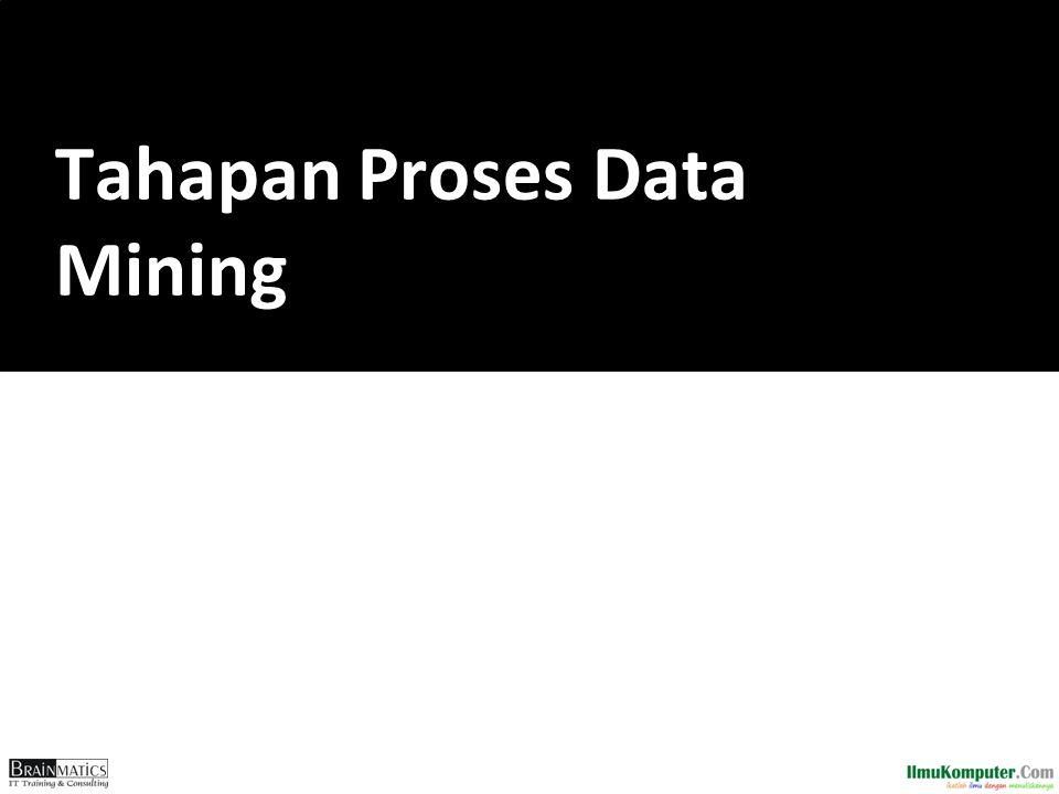 Tahapan Proses Data Mining