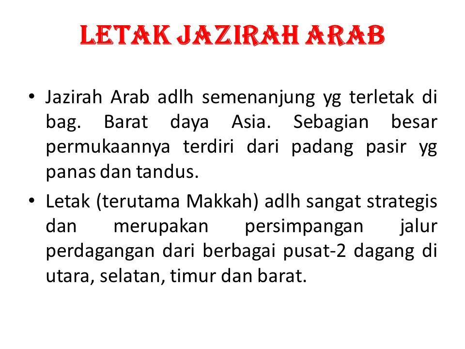 LETAK JAZIRAH ARAB