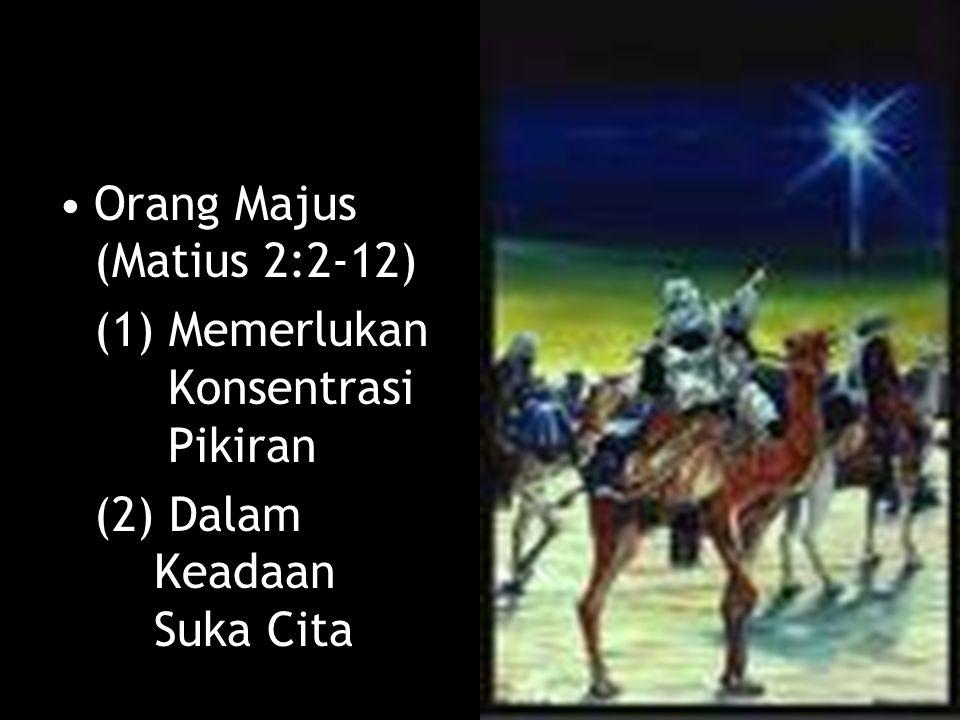 Orang Majus (Matius 2:2-12)