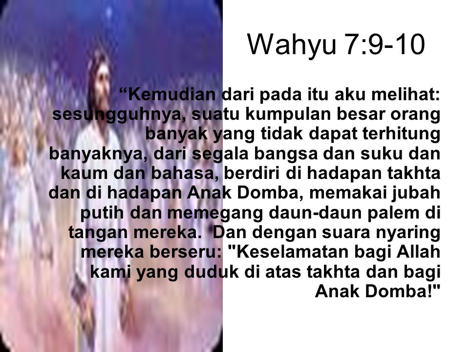 Wahyu 7:9-10