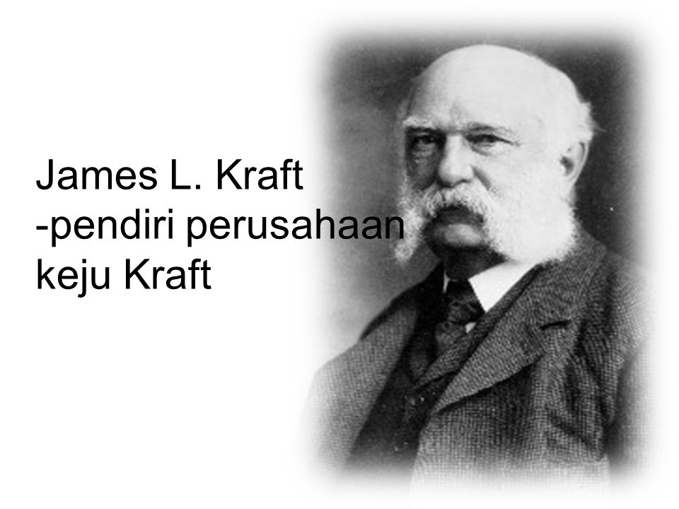 James L. Kraft -pendiri perusahaan keju Kraft