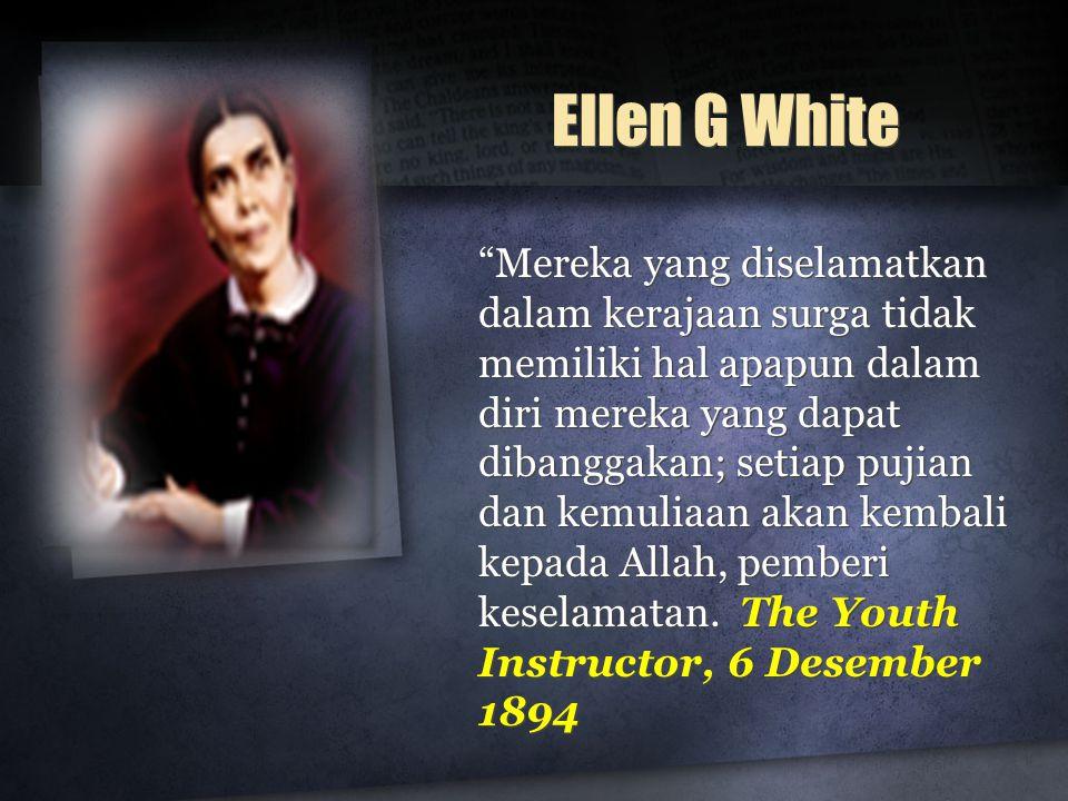 Ellen G White