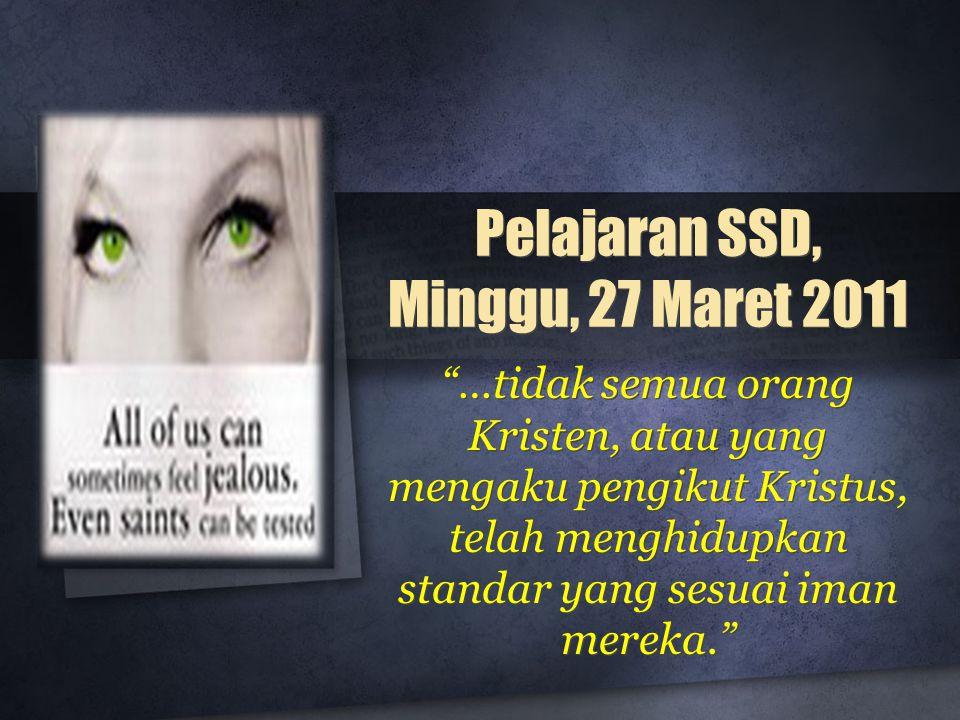 Pelajaran SSD, Minggu, 27 Maret 2011
