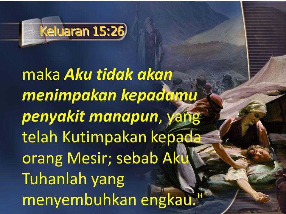 Keluaran 15:26