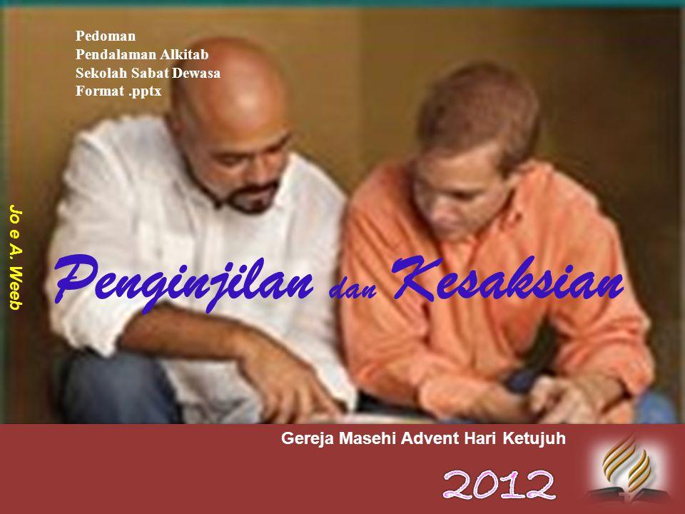 Penginjilan dan Kesaksian