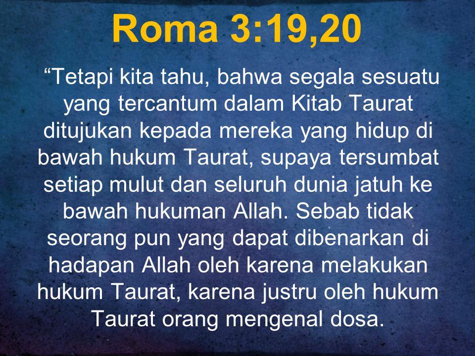 Roma 3:19,20