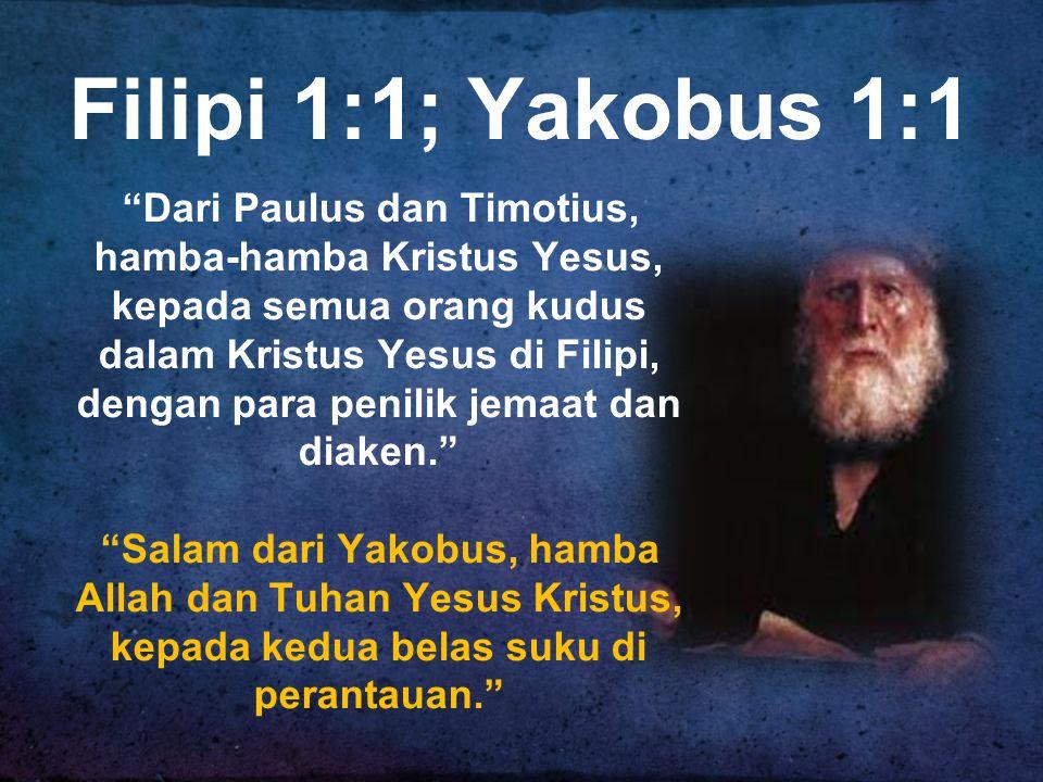 Filipi 1:1; Yakobus 1:1