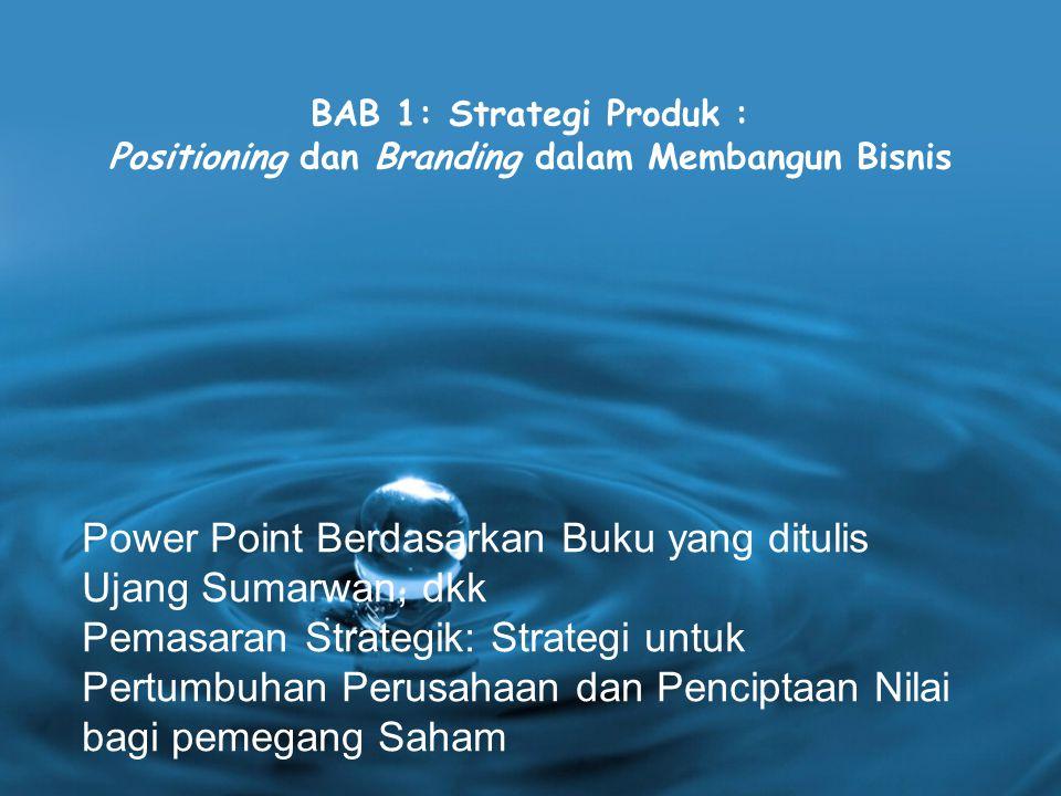 Power Point Berdasarkan Buku yang ditulis Ujang Sumarwan, dkk