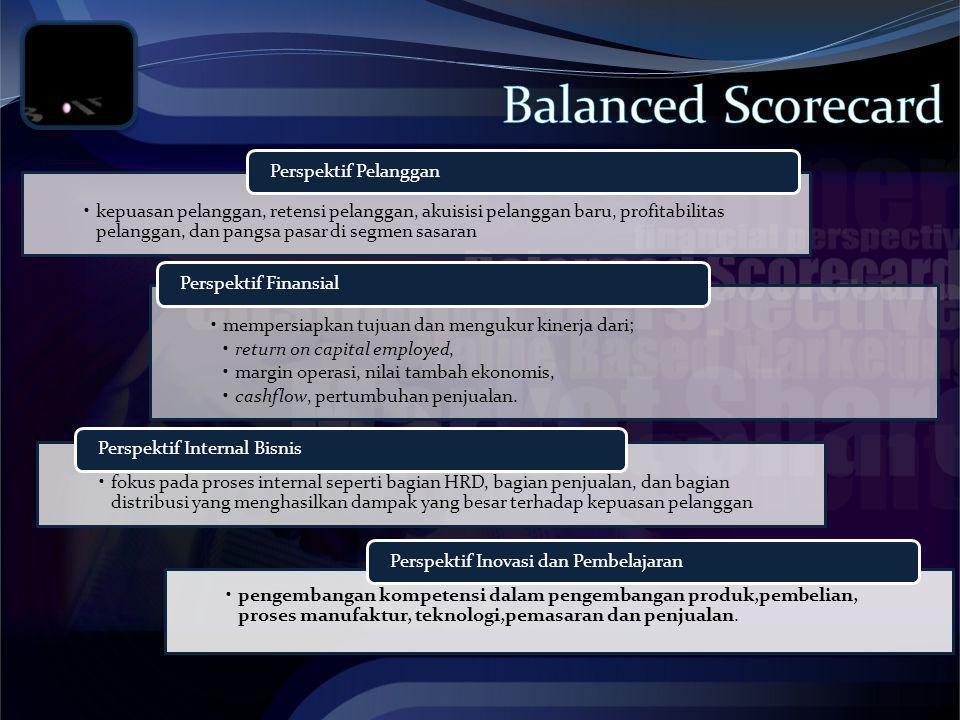 Balanced Scorecard Perspektif Pelanggan
