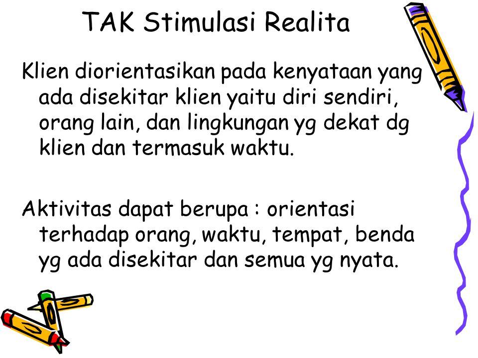 TAK Stimulasi Realita