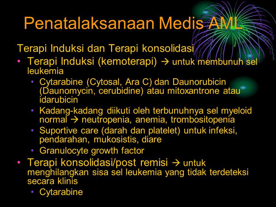 Penatalaksanaan Medis AML