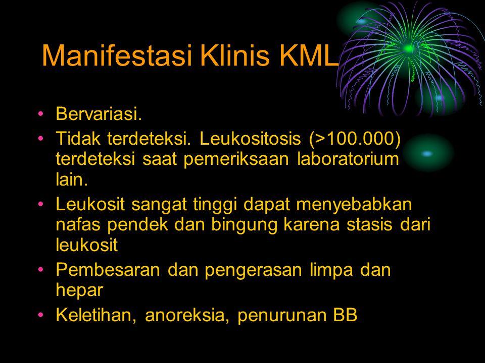 Manifestasi Klinis KML