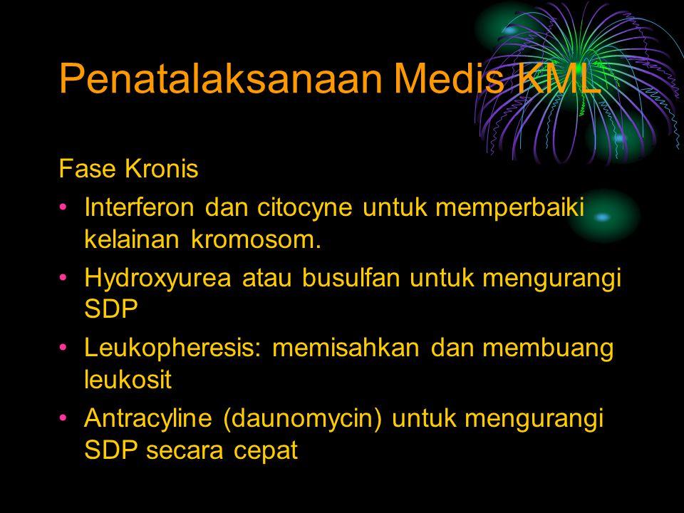 Penatalaksanaan Medis KML