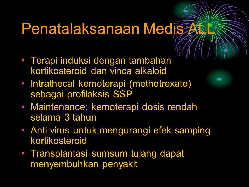 Penatalaksanaan Medis ALL