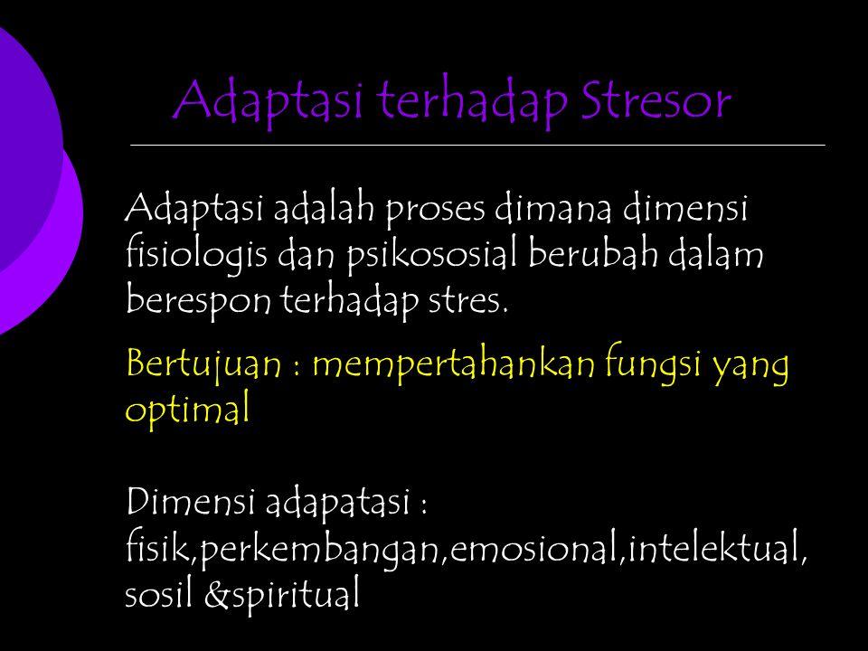 Adaptasi terhadap Stresor
