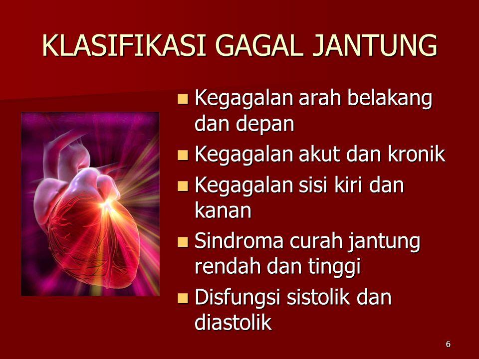 KLASIFIKASI GAGAL JANTUNG