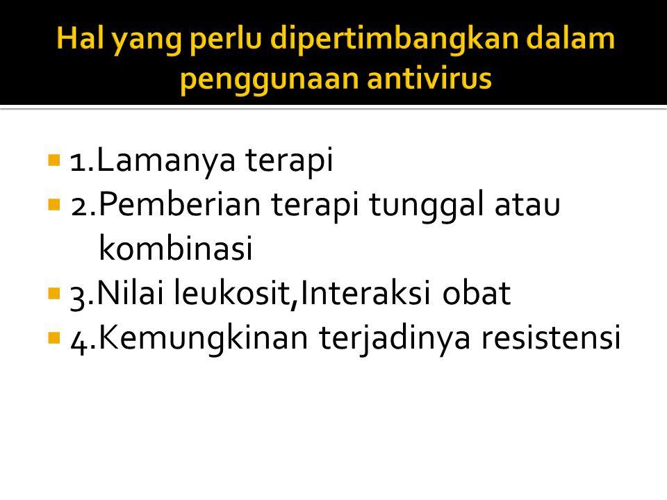 Hal yang perlu dipertimbangkan dalam penggunaan antivirus