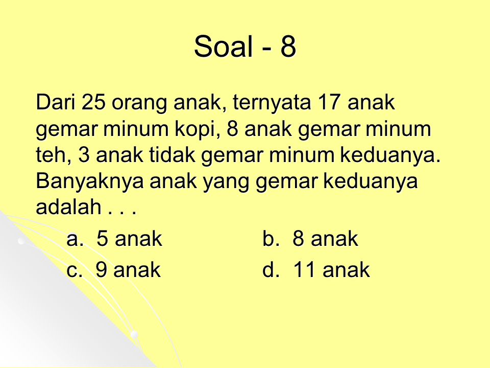 Soal - 8