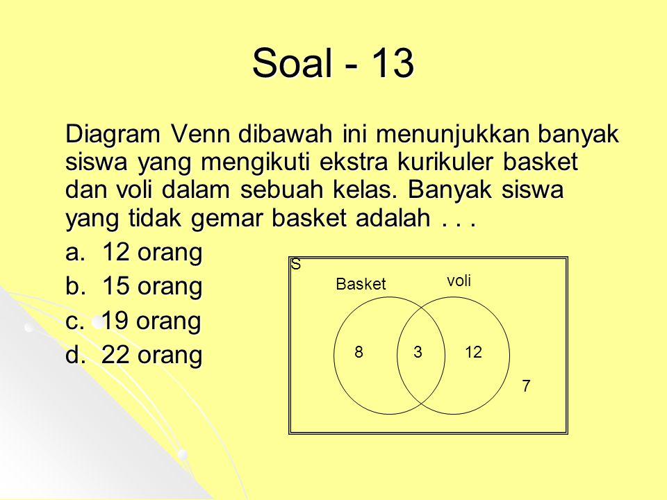 Soal - 13