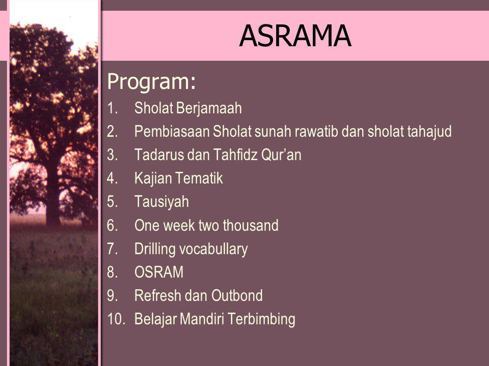 ASRAMA Program: Sholat Berjamaah