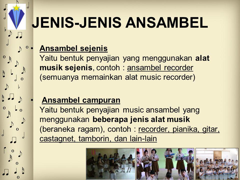 JENIS-JENIS ANSAMBEL