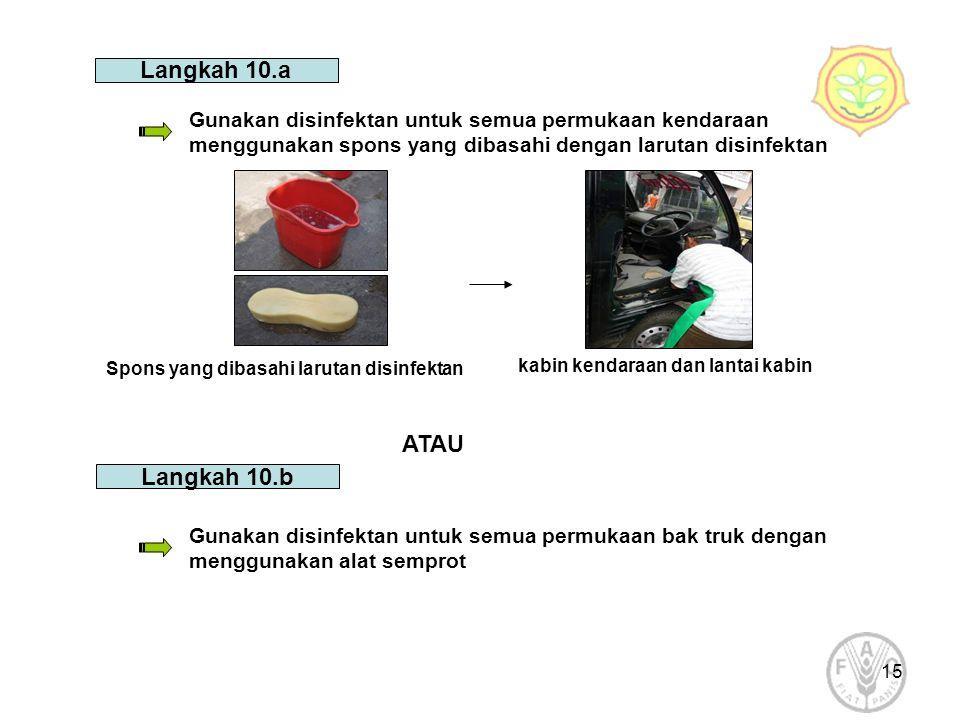 Langkah 10.a ATAU Langkah 10.b