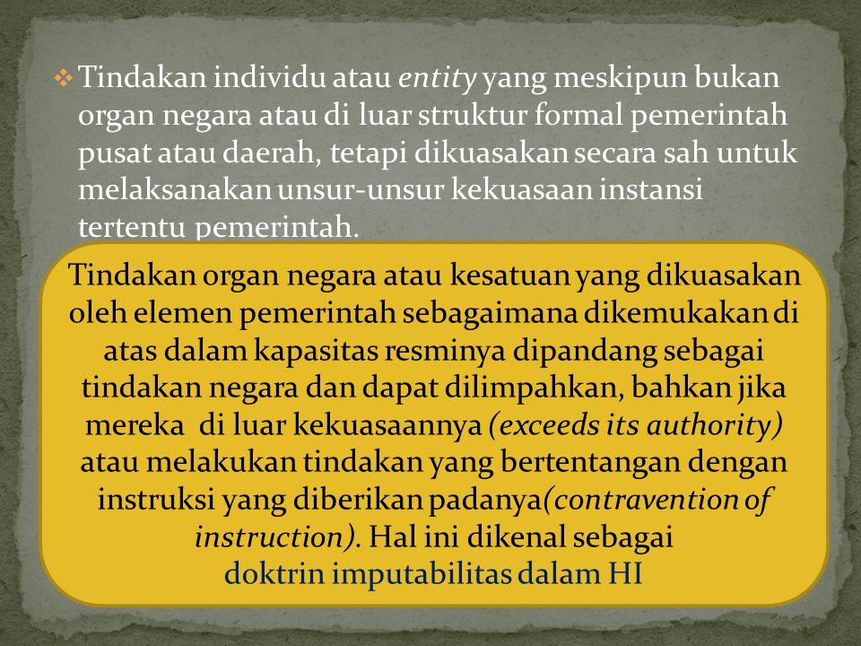 doktrin imputabilitas dalam HI