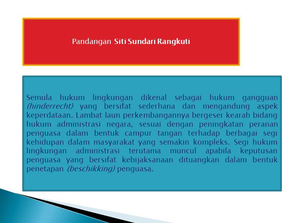 Pandangan Siti Sundari Rangkuti