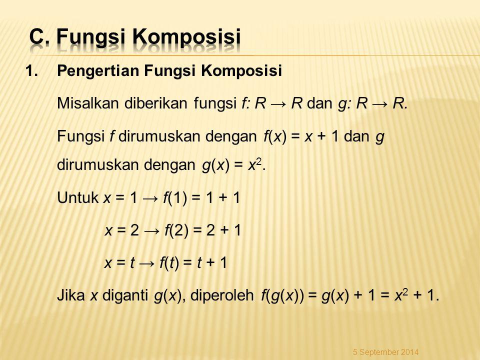 C. Fungsi Komposisi