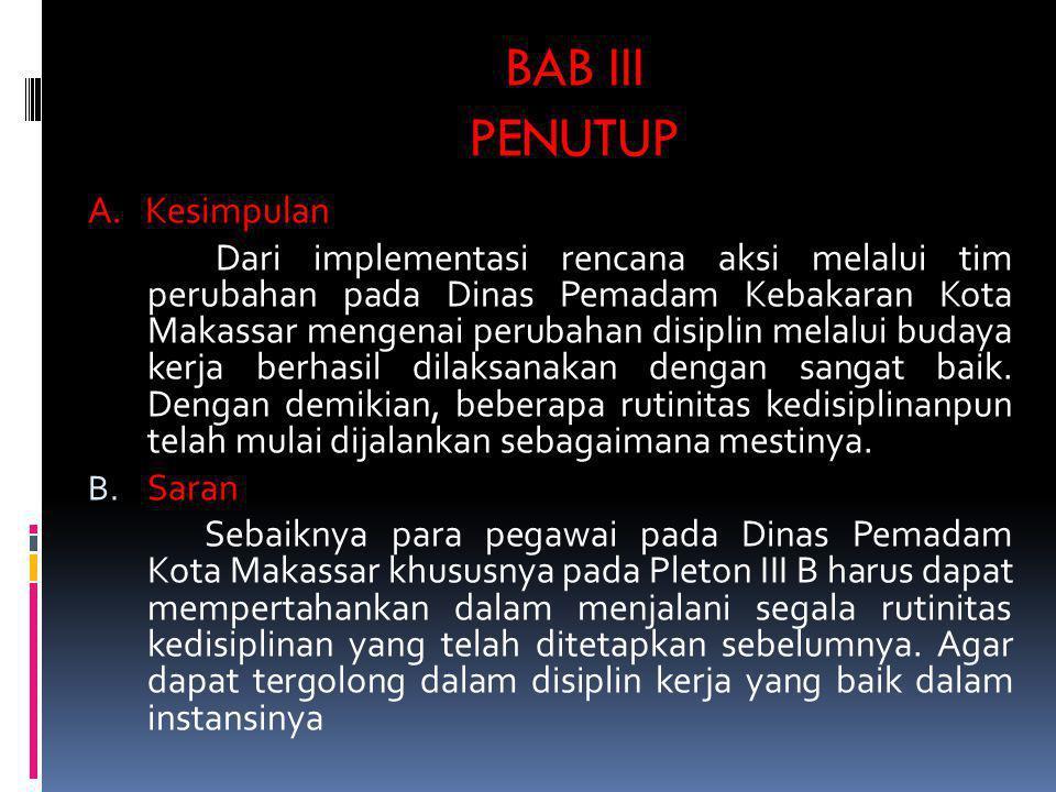 BAB III PENUTUP A. Kesimpulan