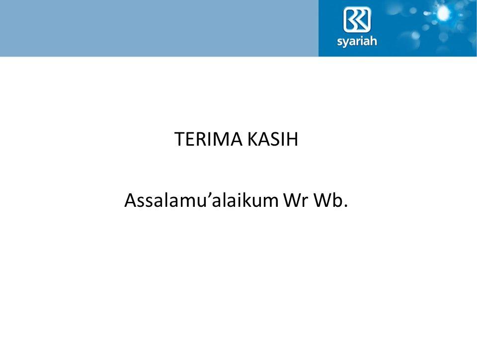 TERIMA KASIH Assalamu'alaikum Wr Wb.