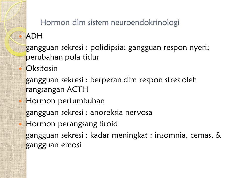Hormon dlm sistem neuroendokrinologi