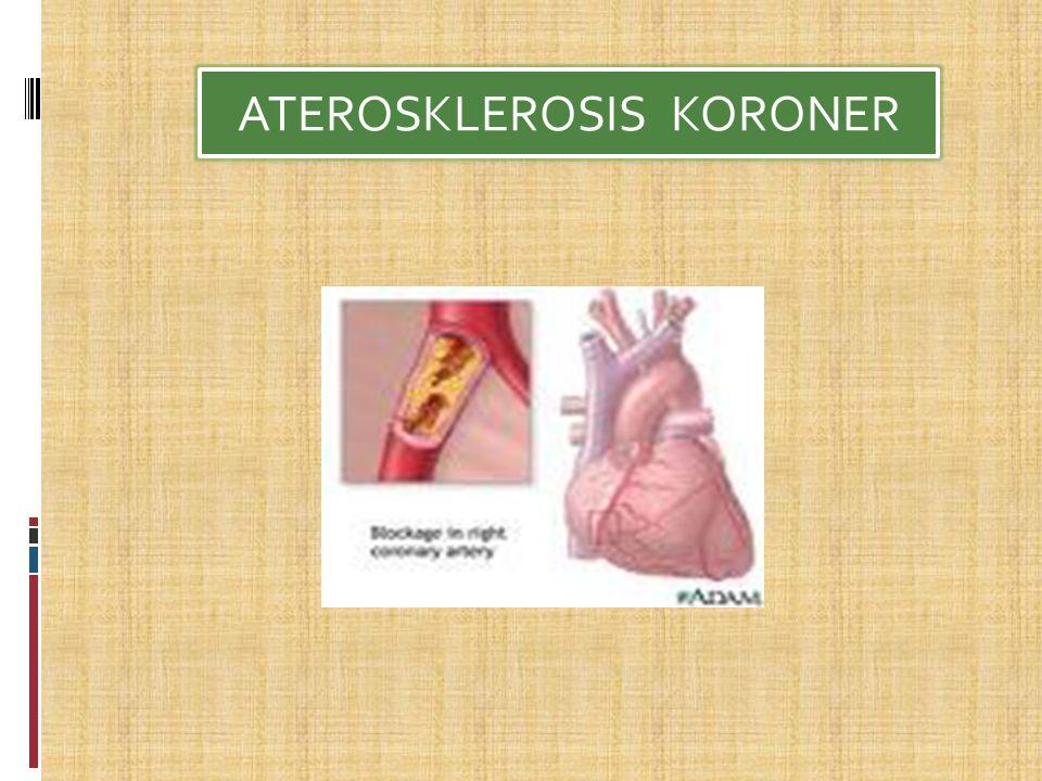 ATEROSKLEROSIS KORONER