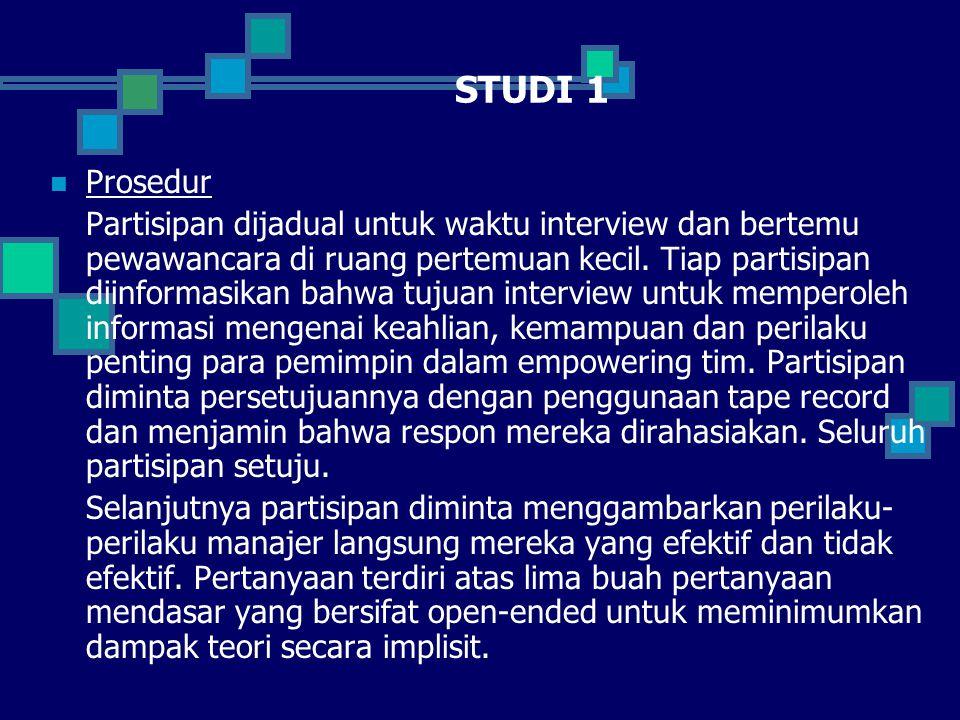 STUDI 1 Prosedur.