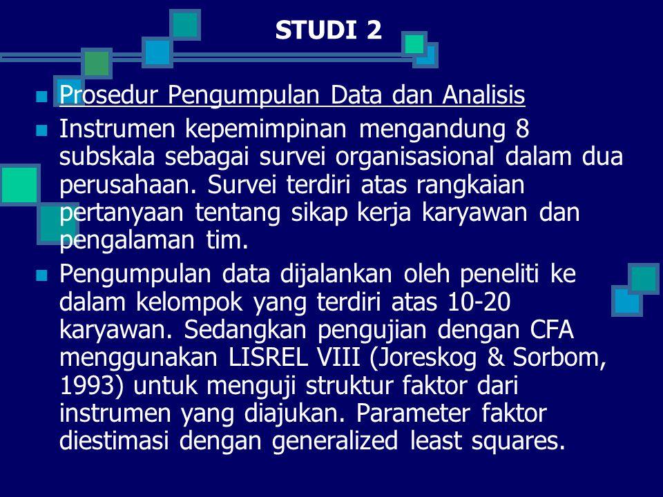 STUDI 2 Prosedur Pengumpulan Data dan Analisis.