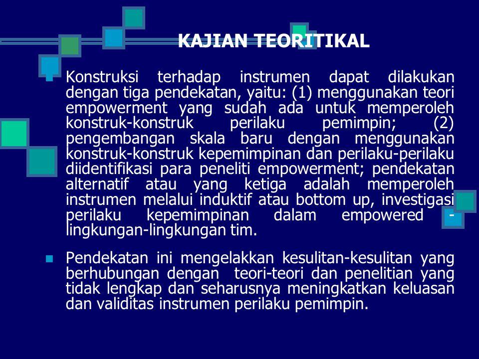 KAJIAN TEORITIKAL