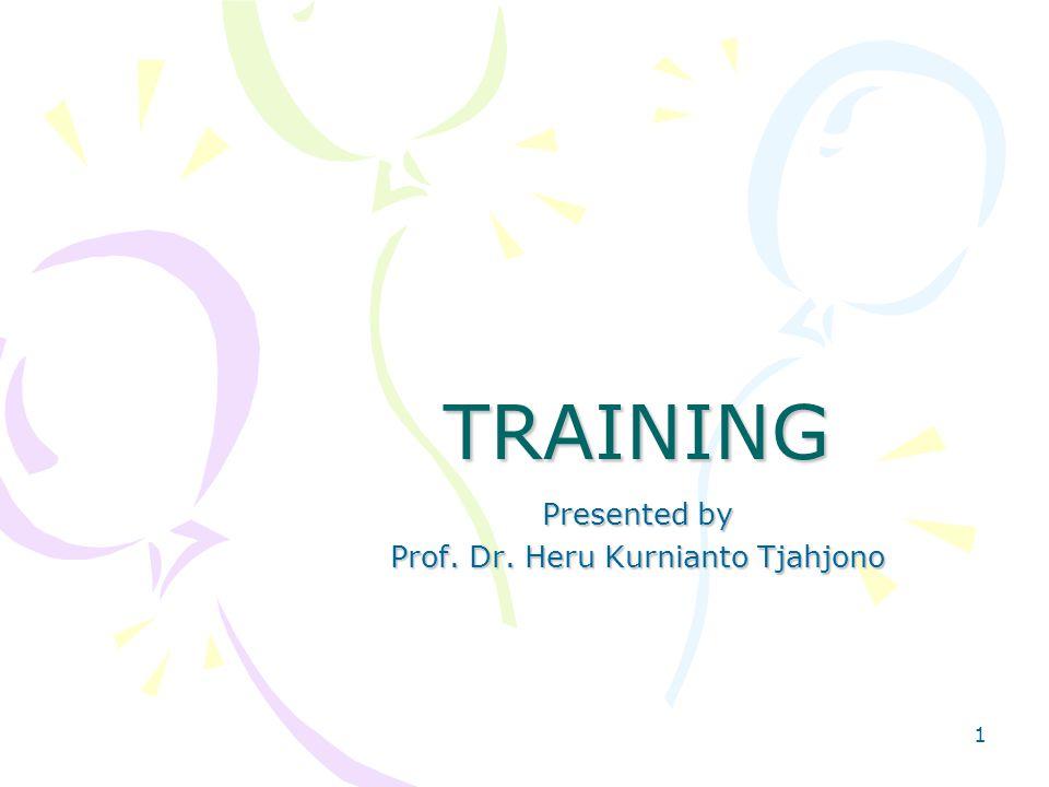 Presented by Prof. Dr. Heru Kurnianto Tjahjono