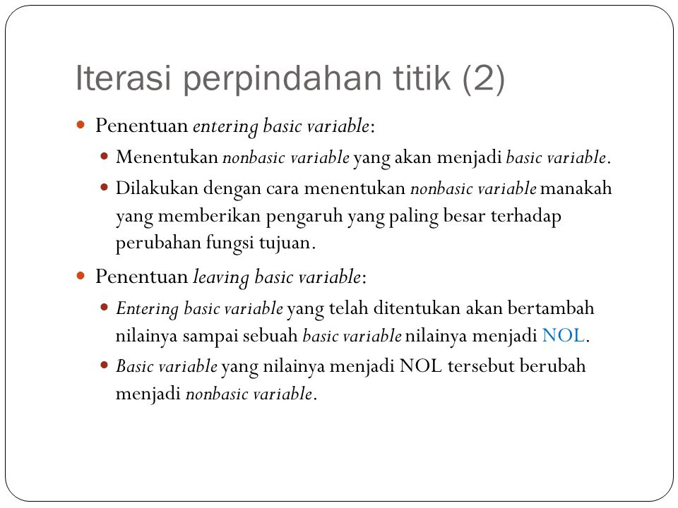 Iterasi perpindahan titik (2)