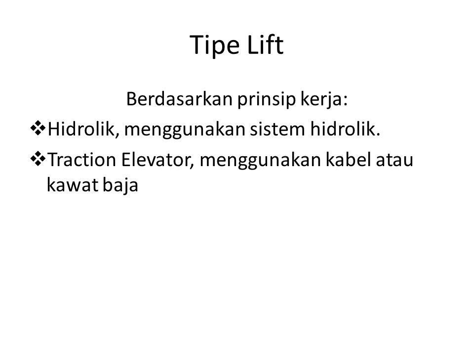 Berdasarkan prinsip kerja: