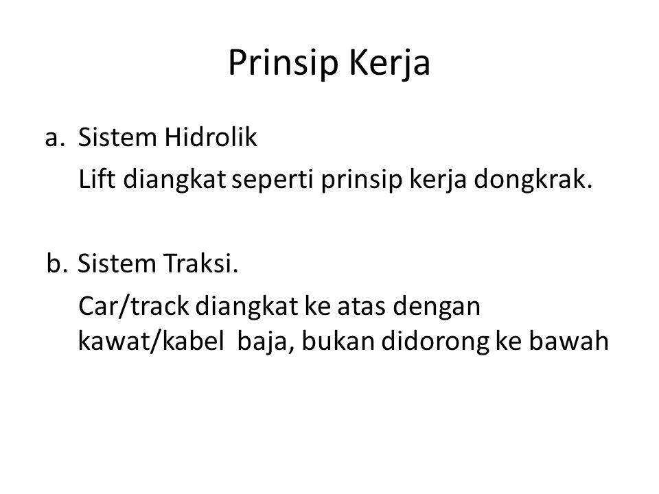 Prinsip Kerja Sistem Hidrolik