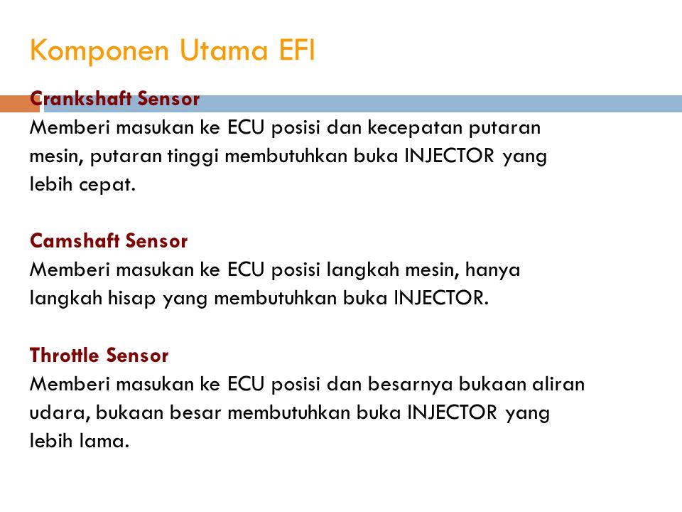 Komponen Utama EFI