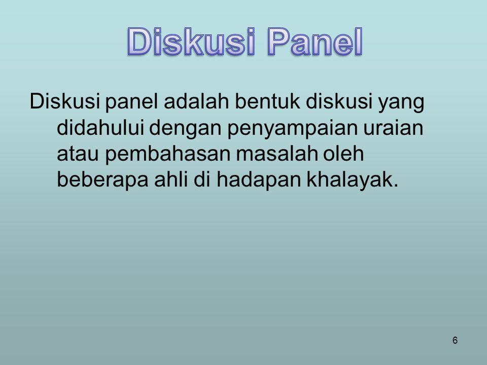 Diskusi Panel